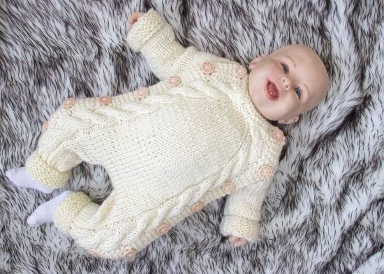 Вязание спицами для новорожденных с описанием и фото - сайт о рукоделии