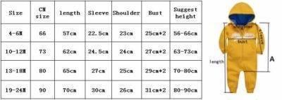 Как выбрать нужный размер одежды для новорожденных: таблицы по месяцам до года