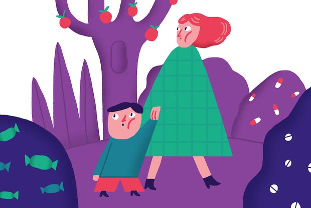 Рвота с кровью у ребенка младше года — симптомы тошноты