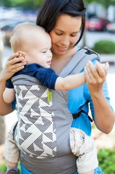 Эрго-рюкзак для новорожденного