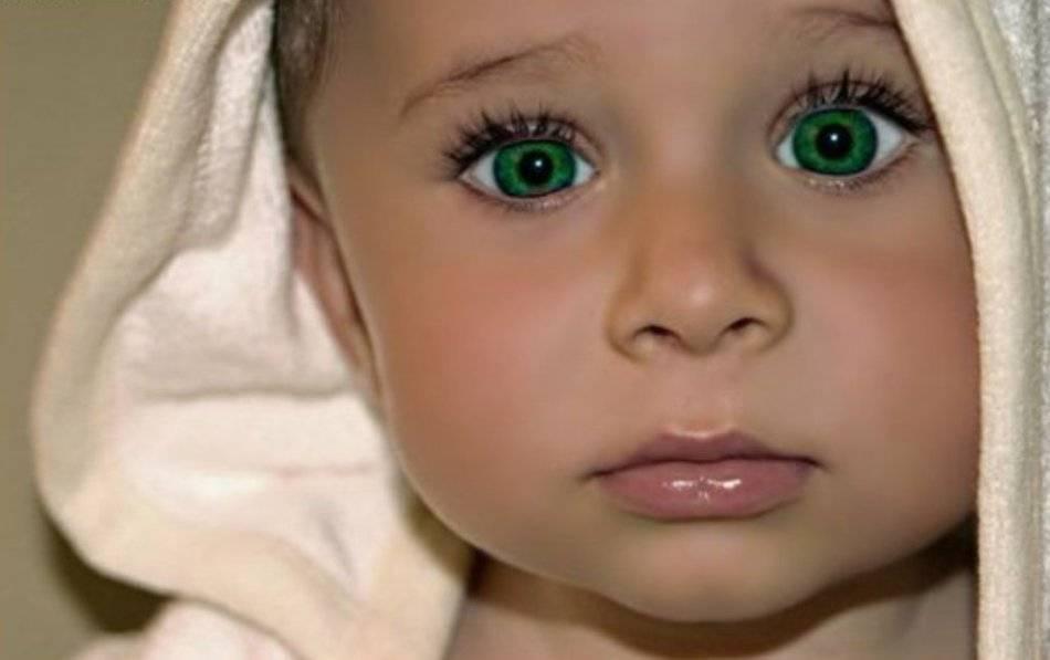 Знаете ли вы, что у кареглазых родителей может родиться голубоглазый малыш?