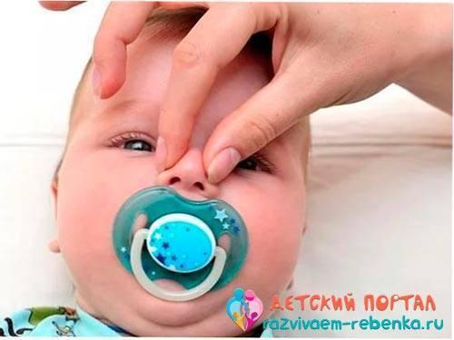 Чем можно промывать нос годовалому ребенку при насморке