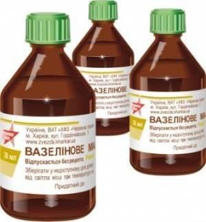 Вазелиновое масло для новорожденных насморк
