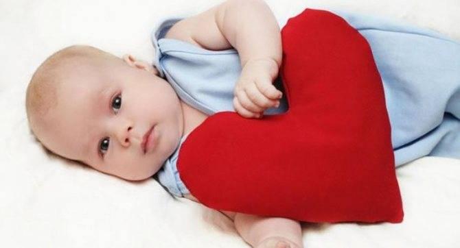 Симптомы и лечение врожденных пороков сердца у новорожденных