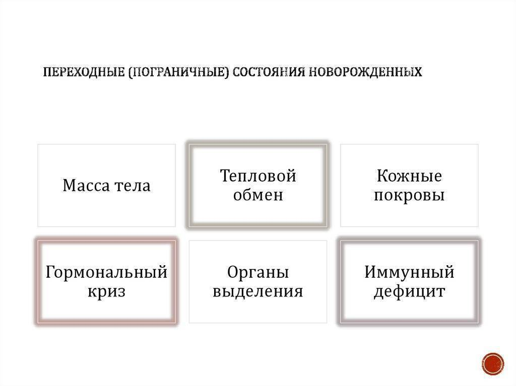 """Презентация на тему """"пограничные состояния у новорожденных"""""""