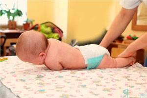Как научить малыша переворачиваться с животика на спинку