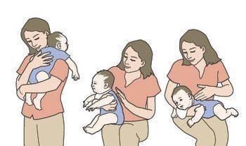 Как держать ребенка, чтобы он срыгнул и чем можно помочь