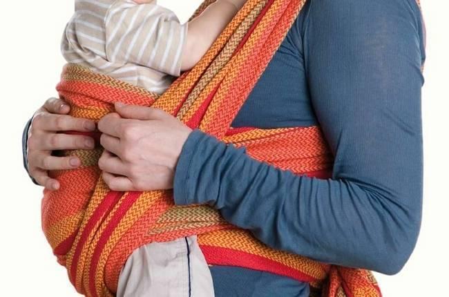 Как сделать слинг своими руками для новорожденных