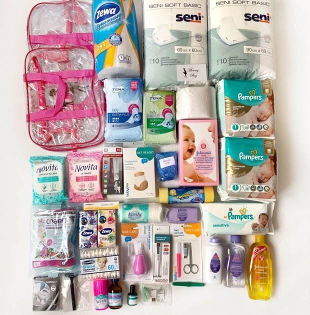 Список вещей в роддом для мамы и малыша 2020. сумка на лето, весна, зима, осень. что нужно на кесарево сечение. вещи по пакетам