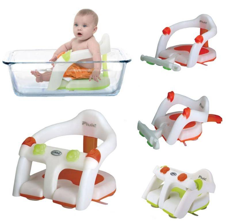 Виды горок в ванночку для новорожденного и их особенности