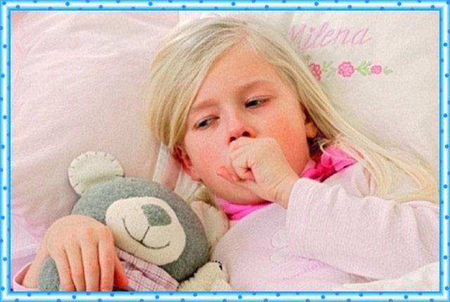 Как успокоить горловой кашель у ребенка