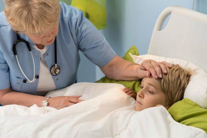 Температура и болит низ живота у ребенка