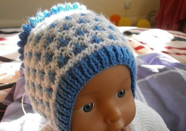 Шапочка для новорожденного спицами мастер класс как вязать для мальчика и девочки, размеры для детей