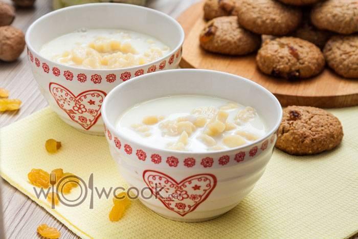 Молочный суп с вермишелью — рецепты для детей, как в садике