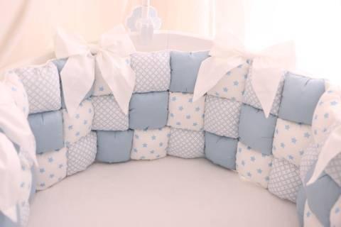 Бортики в кроватку для новорожденных (91 фото): нужны ли они, как выбрать в круглую кровать, какие есть размеры бортов