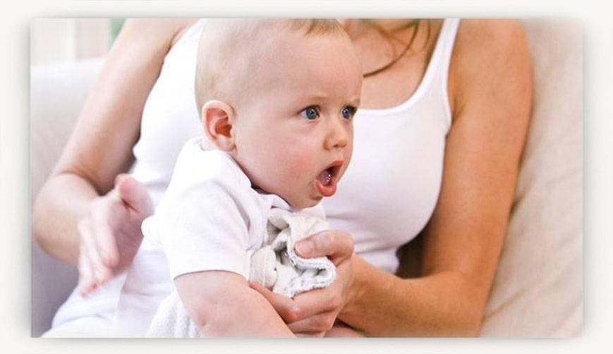 Срыгивания у детей. когда нужен доктор?