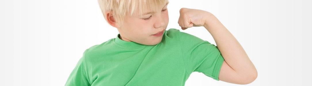 Как повысить иммунитет у ребенка если он часто болеет