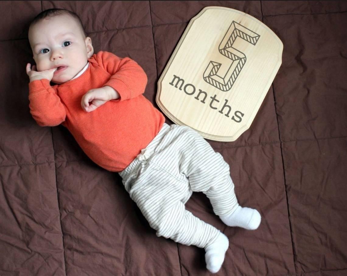 Малышу 5 месяцев и что должен уметь