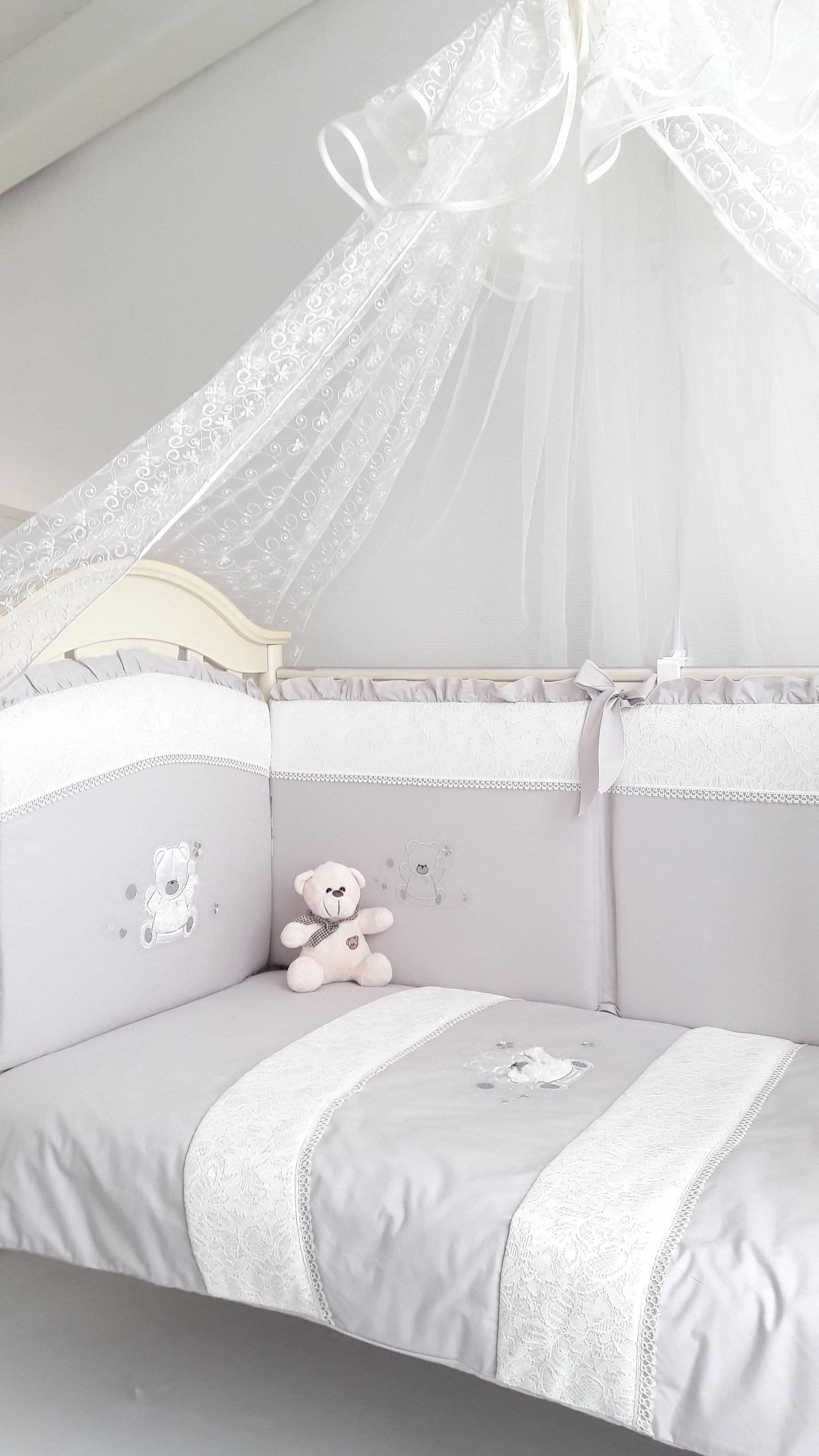 Какие бортики нужны в кроватке???