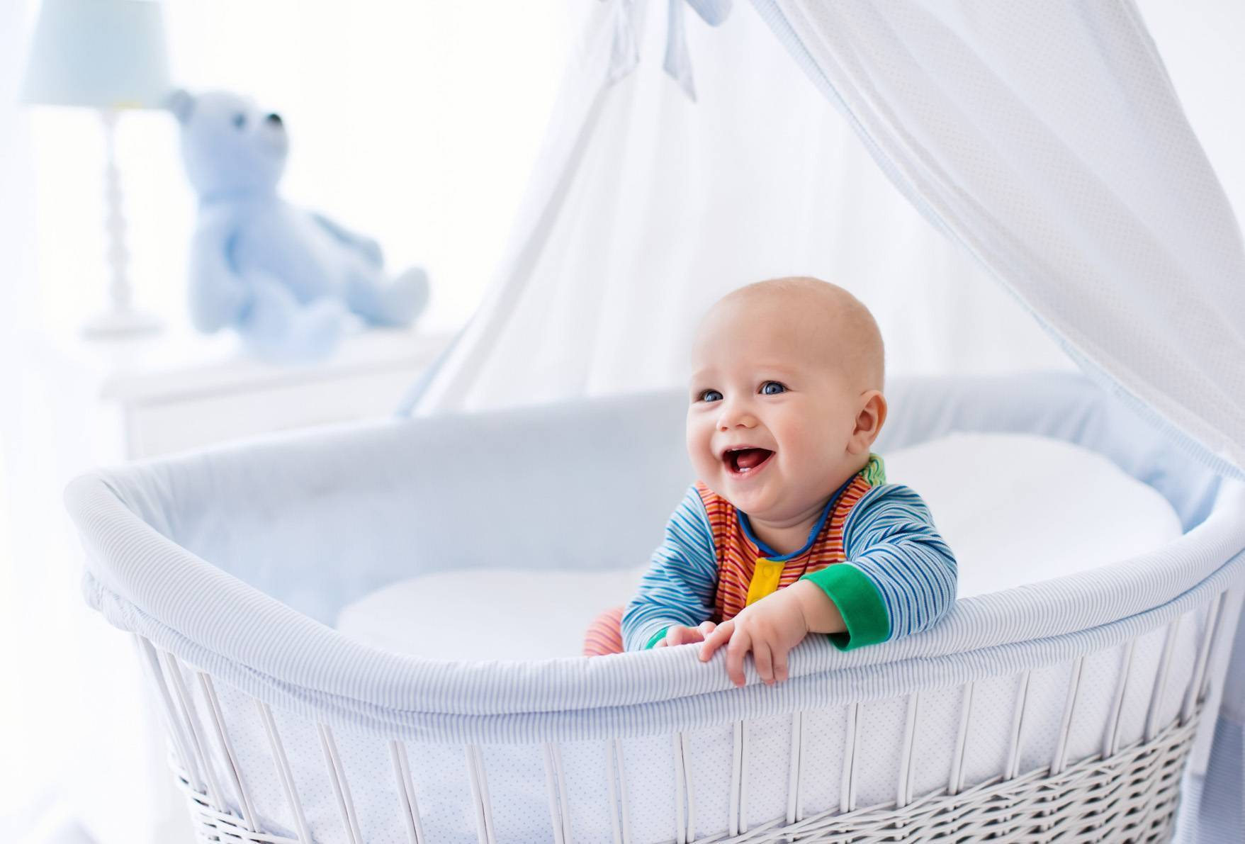 Измерение температуры у спящего ребенка