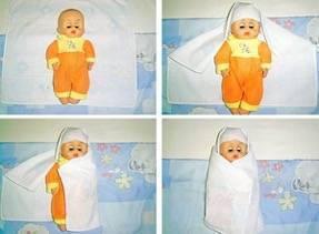 Пошаговые инструкции, как правильно пеленать новорожденного в соответствии с разными техниками