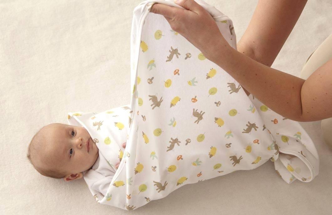 Как нужно отучать ребёнка от пеленания