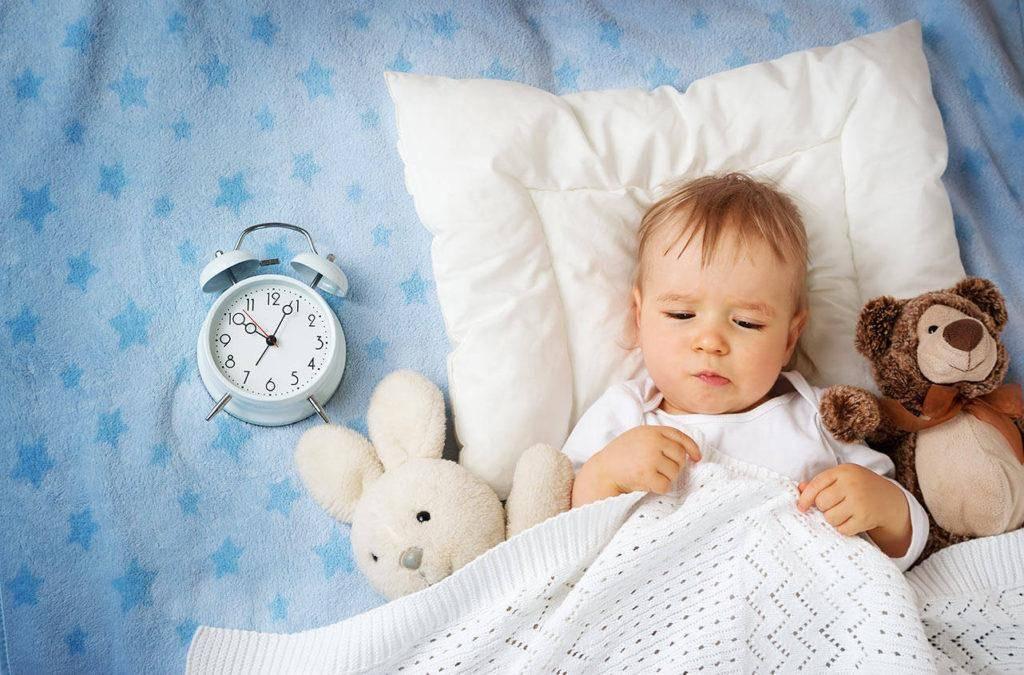 Беспокойный сон ребёнка: причины