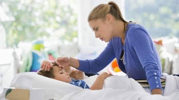Держится температура у ребенка долгое время - что делать?