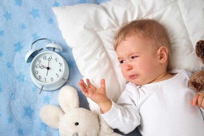 Почему ребенок постоянно просыпается ночью и плачет?