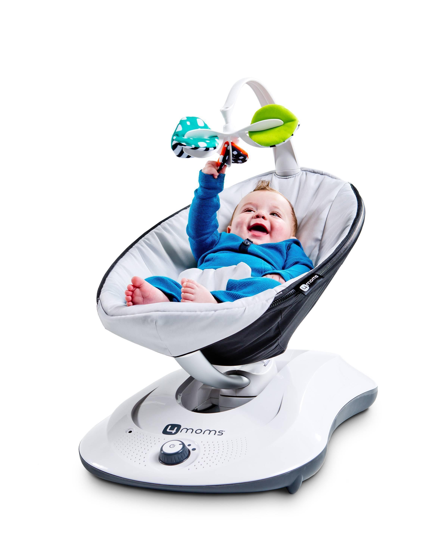 Электронная люлька качалка для новорожденных