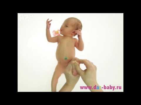 Нужен ли массаж новорожденному от 0 до 3 месяцев