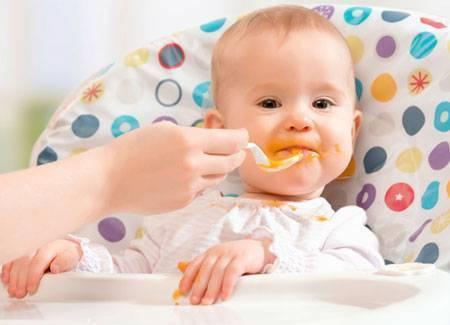Овощное пюре – идеальный первый прикорм для грудничка