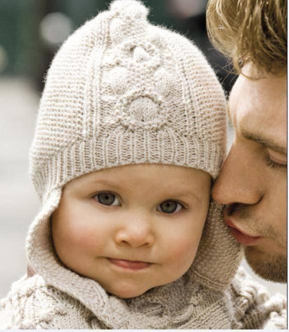 Как связать спицами шапку для новорожденного (схемы)