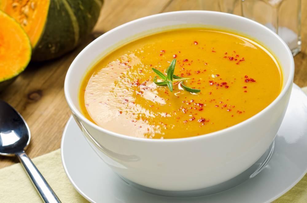 Суп-пюре из тыквы для взрослых и детей