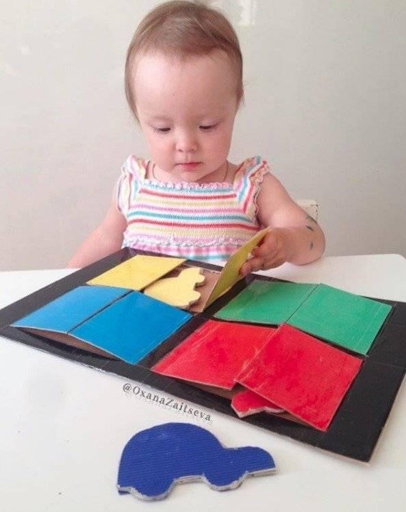 Игры для малышей от 6 до 12 месяцев