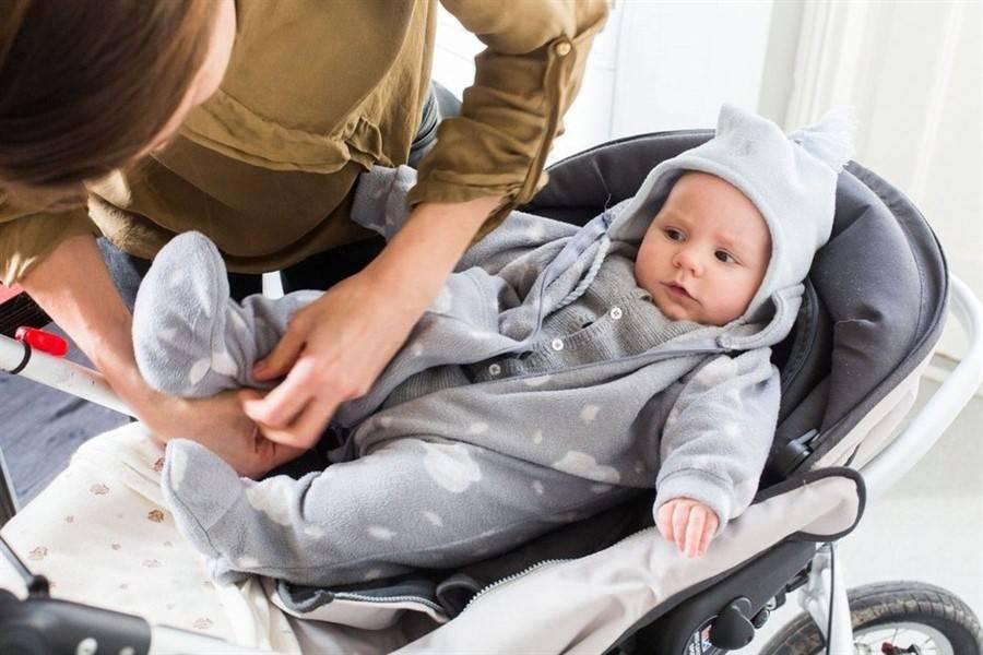 Как одеть ребенка до года на прогулку. в картинках!