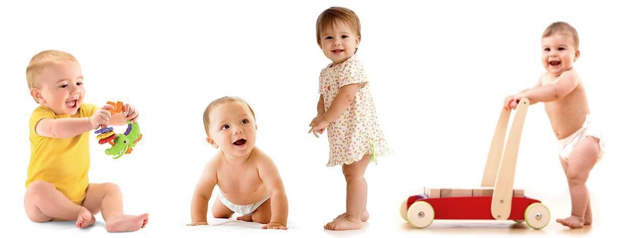Календарь развития ребенка по месяцам до 1 года: полная таблица навыков