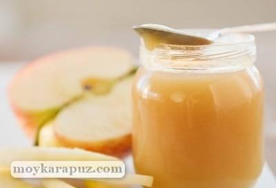 Печеное яблоко в духовке для ребенка до года