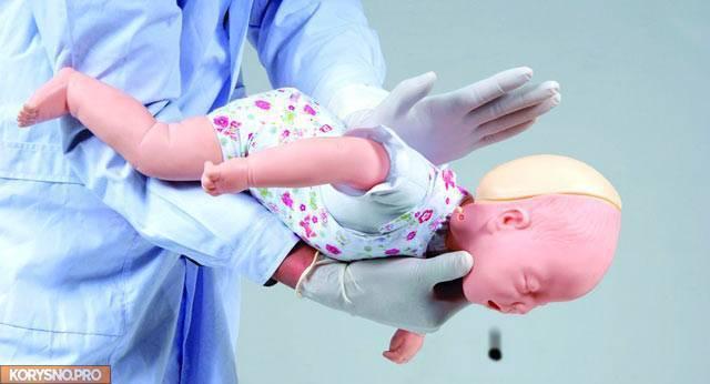 Инородное тело в дыхательных путях у ребенка: признаки, помощь