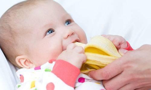 С какого возраста можно давать грудничку банан?