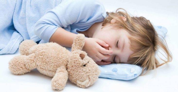 Кашель и рвота у ребенка без температуры