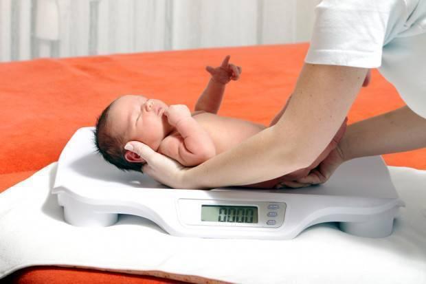 Вес ребенка при рождении- советы в календаре беременности на babyblog.ru пример