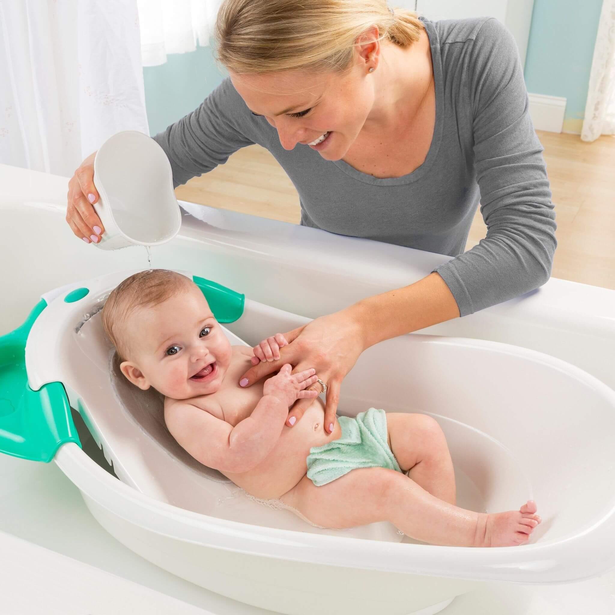 Разновидности моделей гамака для купания новорожденных