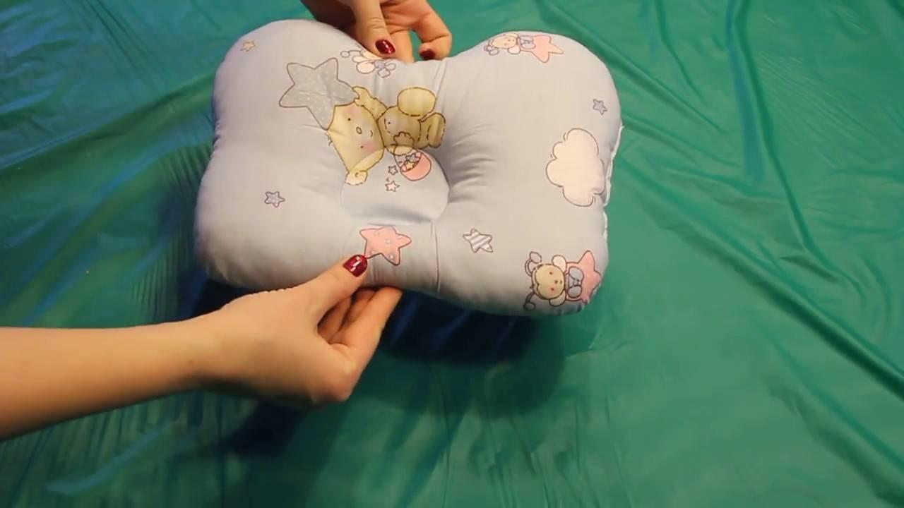 Ортопедическая подушка для грудничка: как выбрать лучшую