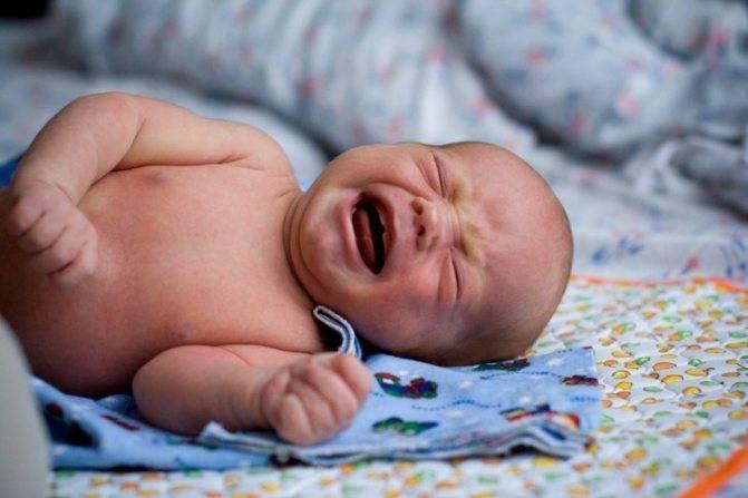 Спазмы в кишечнике у новорожденного