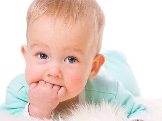 Максимальная температура при прорезывании зубов