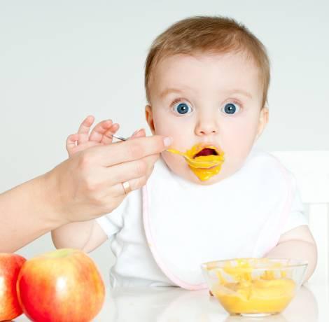 Питание ребенка в 5 месяцев