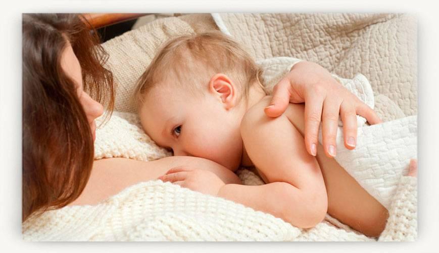Ребенок давится при кормлении грудным молоком