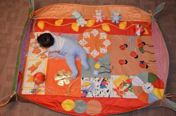 Коврики своими руками: как сшить развивающий коврик своими руками развивающий коврик своими руками | метки: ребенок, год, мастер, класс, фото
