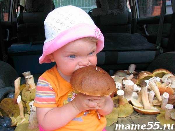С какого возраста можно давать шампиньоны детям?